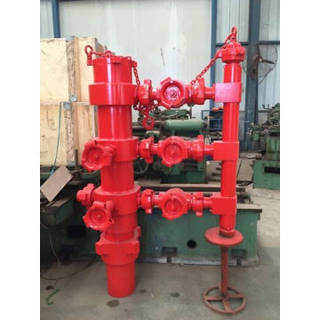 Double Plug Rotating Cementing Head for Wells