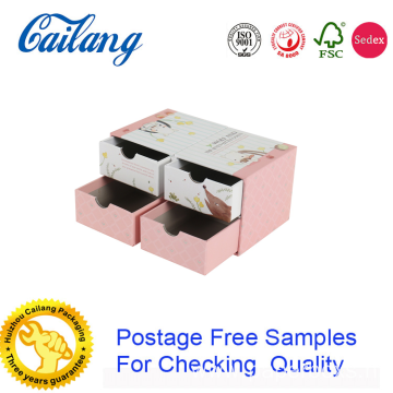 Sliding Drawer Box With Ribbon Puller