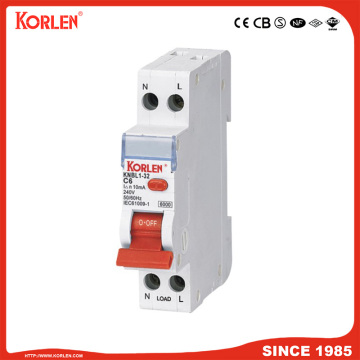 Residual Current Circuit Breaker with over load protection