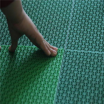 Easy installation and removable pp interlocking flooring