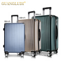 3 piece trolley luggage set with lightweight