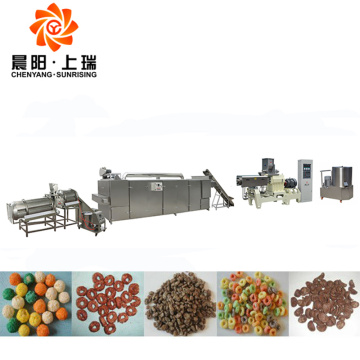 Extrusion puffing machine corn puff snacks extruder