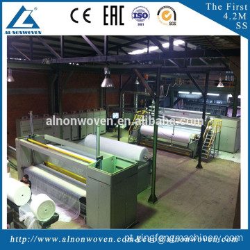 Baby Diaper, Face Mask, Shoe Cover, Agricultural Usage PP Spunbond Nonwoven Machine Line