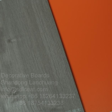 8mm mgo fire-rating orange color one-side decorative boards