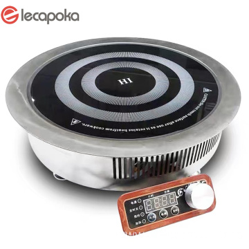 Dibangun Ing Double Induction Cooktop