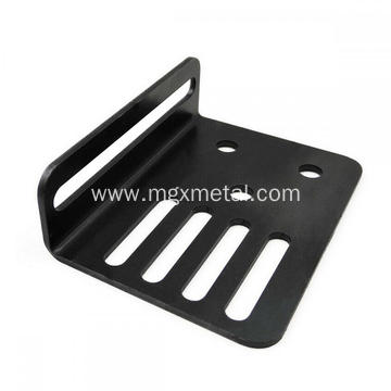 Custom Black Powder Coating Steel Cable Drag Chain Brackets