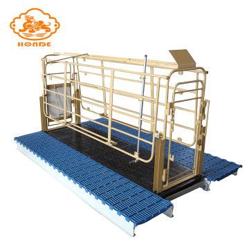 Cheap steel popular pig crates from factory