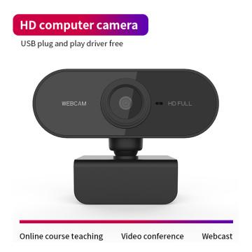 HD 720P Webcam With Mic Rotatable PC Desktop Web Camera Cam Mini Computer WebCamera Cam Video Recording Work