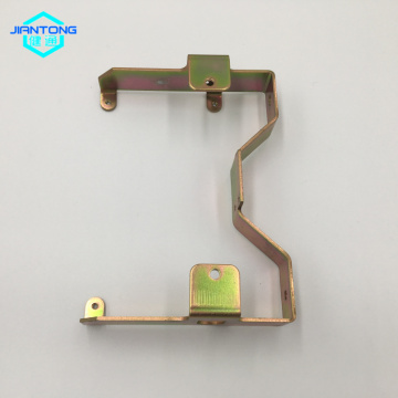 custom sheet metal zinc plated bending stamping part