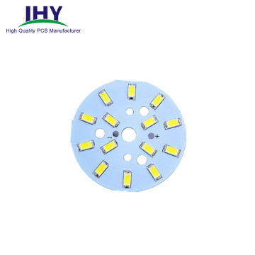 Customized LED Light Round LED PCB Assembly Aluminum PCB PCBA