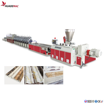 Waterproof  PVC Marble Profile Production Line