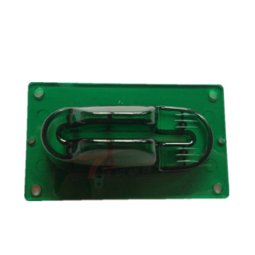 Green Anti Skimmer ATM Bezel Parts Rapid Prototype