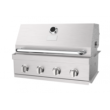 Four Burner Build-in Gas Barbecue Grill