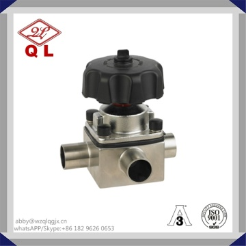Stainless Steel Sanitary Diaphragm Valve 304/316L