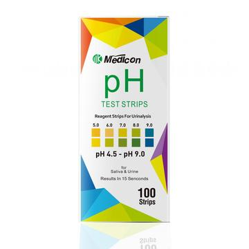 pH4.5-9.0 test strips for urinalysis