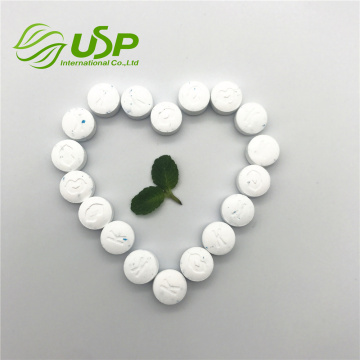 Sea-salt flavor sweetener stevia tablets mints