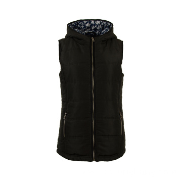 Bodywarmer Sleeveless Down Polyester Padded Vest