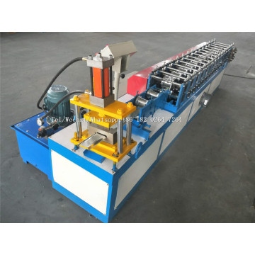 Embossing Pattern Steel Roller Shutter Door Strip Machine