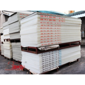 Natural Color Extruded Polypropylene PP Sheet