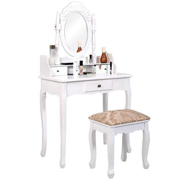China High Quality bedroom Makeup Dressing Table, White