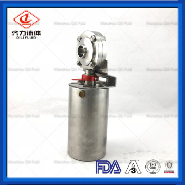 Stainless Steel Sanitary Thread Pneumatic Control Valve