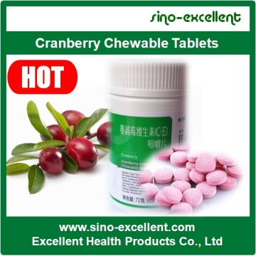 Cranberry Chewable Tablets