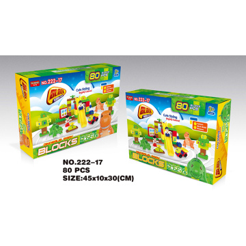 Yuming building blocks 80PCS