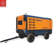 portable diesel air compressor for high cold areas