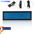 Mini LED Digital Display Rechargeable Programmable Name Badge 15 Display Languages Durable Scrolling Led Tag Sign Badge Module