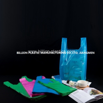 Colorful Vest Shopping Bag