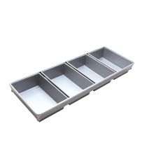 Metal Square Strapped Bread Pan