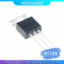 10PCS BT139-600E TO220 BT139-600 TO-220 BT139 new and original Two-way thyristor 16A 600V