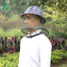 Full Cover Black Top  Mosquito Head Net