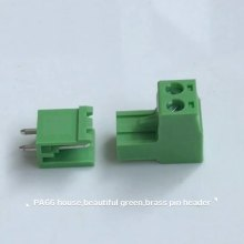 XINKE PCB mount 2 position pluggable terminal block