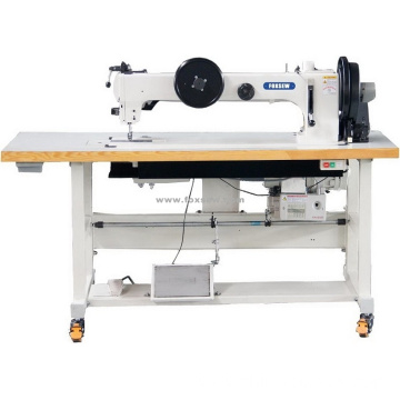 Long Arm Extra Heavy Duty Triple Feed Thick Thread Lockstitch Sewing Machine