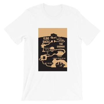 The Goonies 80s Movie Truffle Mix Old Birthday Sean Austin Josh Brolin Vintage Gift Men Women Girls Unisex T-Shirt(1)