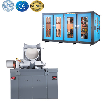 Medium frequency Iron foundry melting Induction furnace