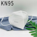 Simple White High Quality KN95 Face Mask