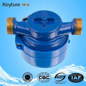 Single-jet Brass Water Meter