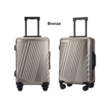 Colorful Super Light Four Wheels PC travel luggage