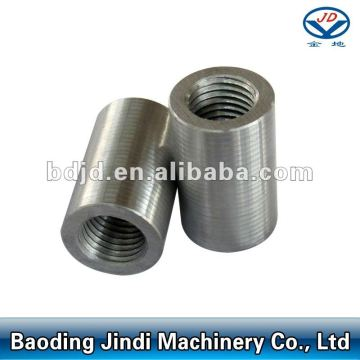 Rebar coupler for mechanical splicing system