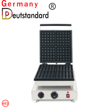 commercial use square waffle making machine for sale