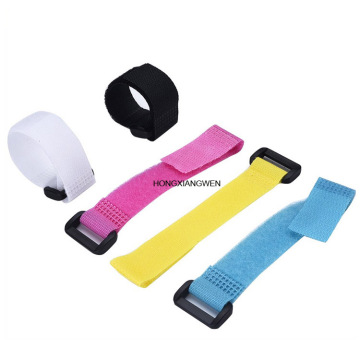 Self Locking Nylon Hook Loop Cable Tie Straps