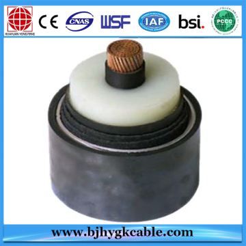76/132(145) kiloVolt XLPE Insulated Corrugated Aluminium High Voltage Power Cable and wire