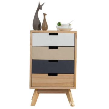 New design TV night stand solid wood cabinet