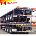 New Model Export 40ft Container Flatbed Trailer