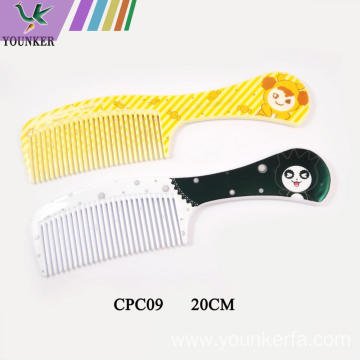Straight hair comb ordinary household comb