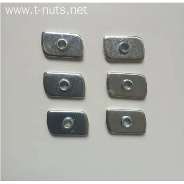 Special planar welded Iron plate nut