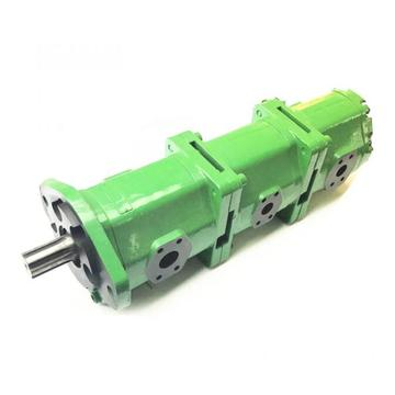 tractor triple external gear pumps