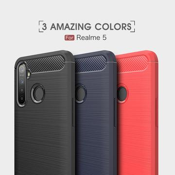 Flexible Soft TPU Scratch Resistant for OPPO Realme5